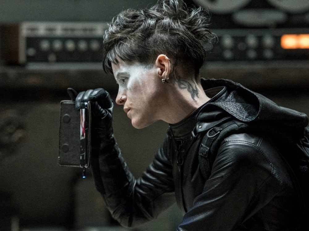 review the girl in the spider's web
