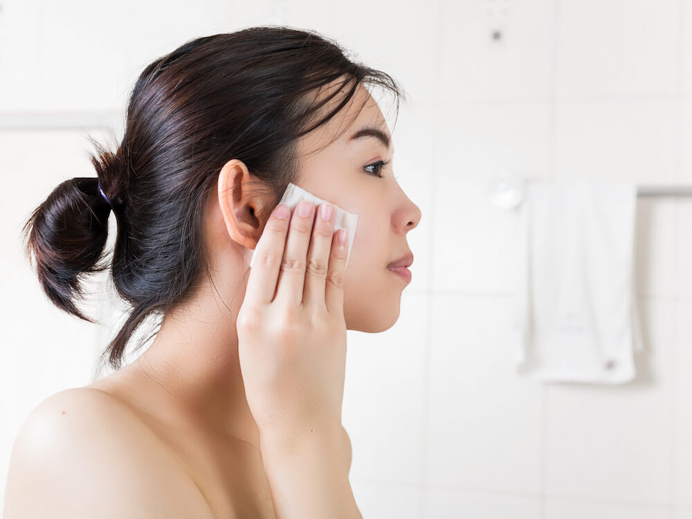 makeup remover lokal baru