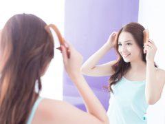 Manfaat mengganti belahan rambut