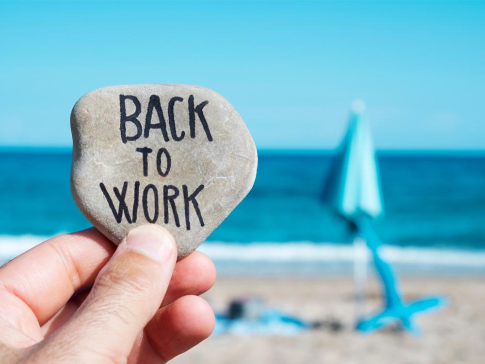 kembali bekerja