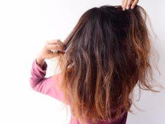 Kesalahan dalam mengeringkan rambut