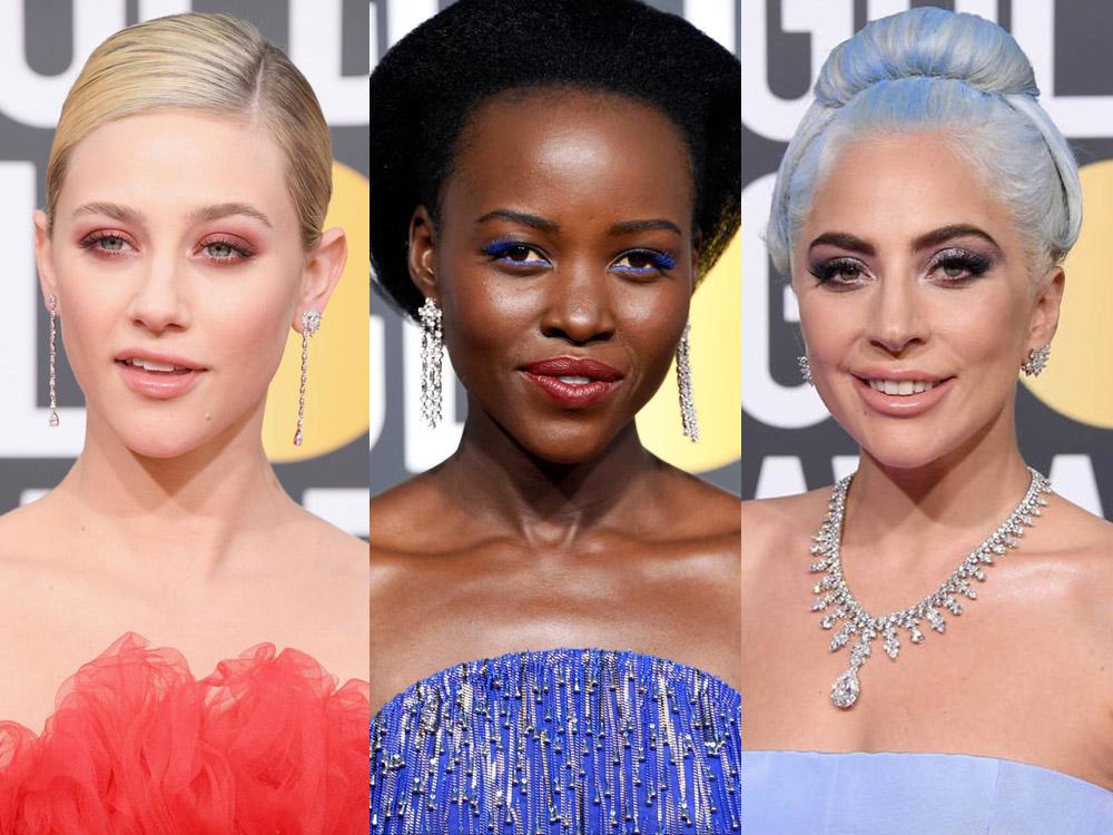 golden globes 2019 best makeup