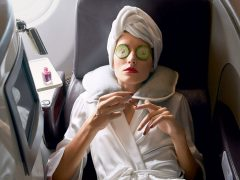 skin care penerbangan
