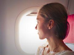 Masalah kulit saat di pesawat