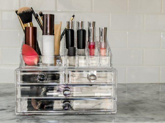 tips menyimpan dan merapikan produk kecantikan