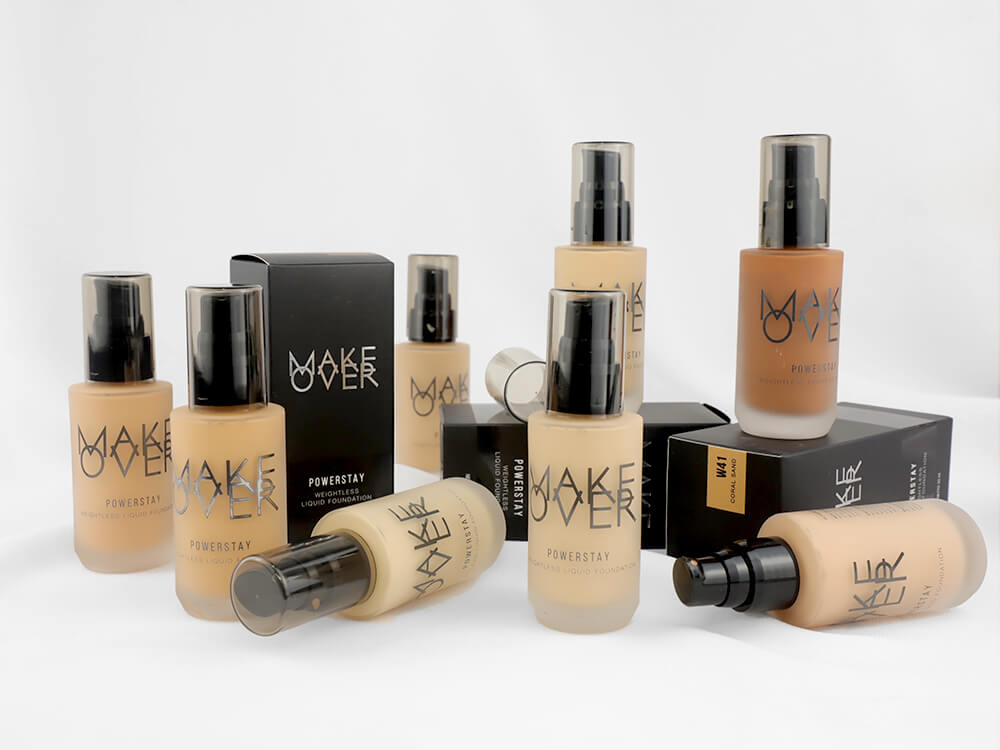 Review Make Over Powerstay Weightless Liquid Foundation