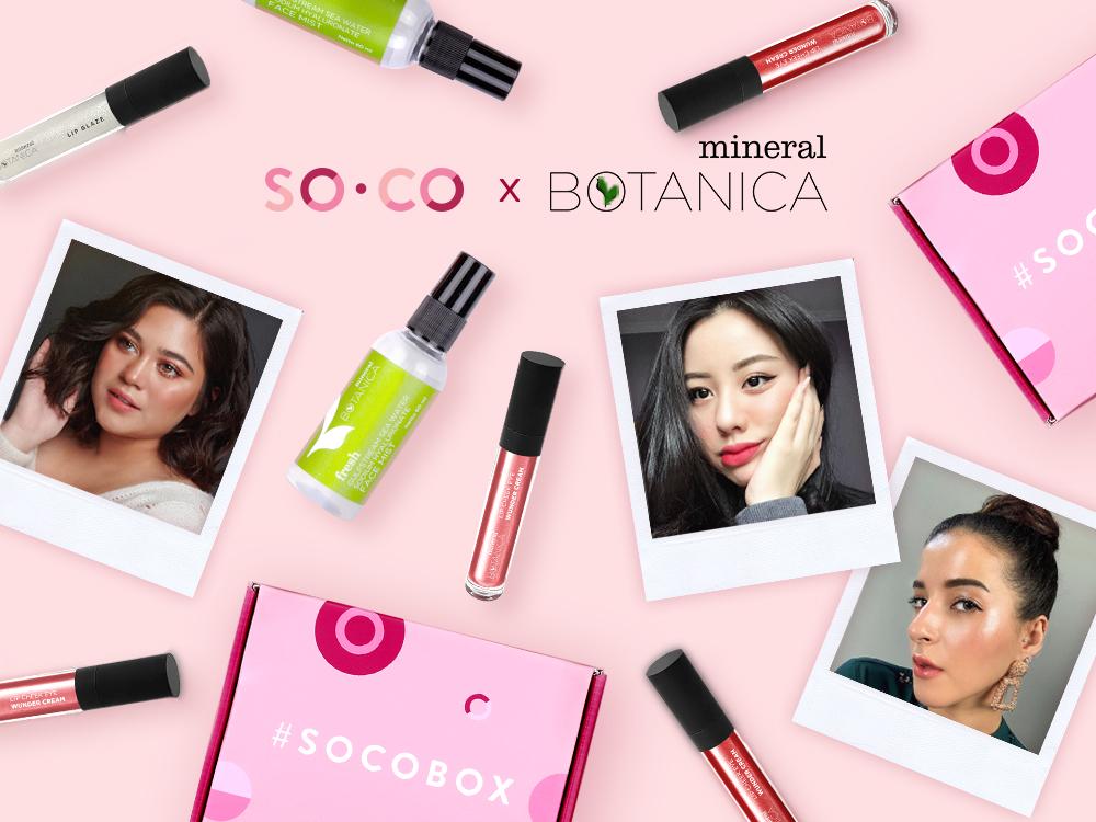 #socobox x mineral botanica