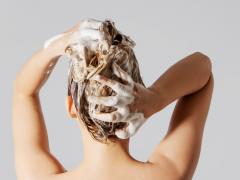 frekuensi keramas berdasarkan jenis rambut