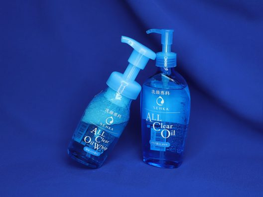 review senka all clear oil & all clear oil whip