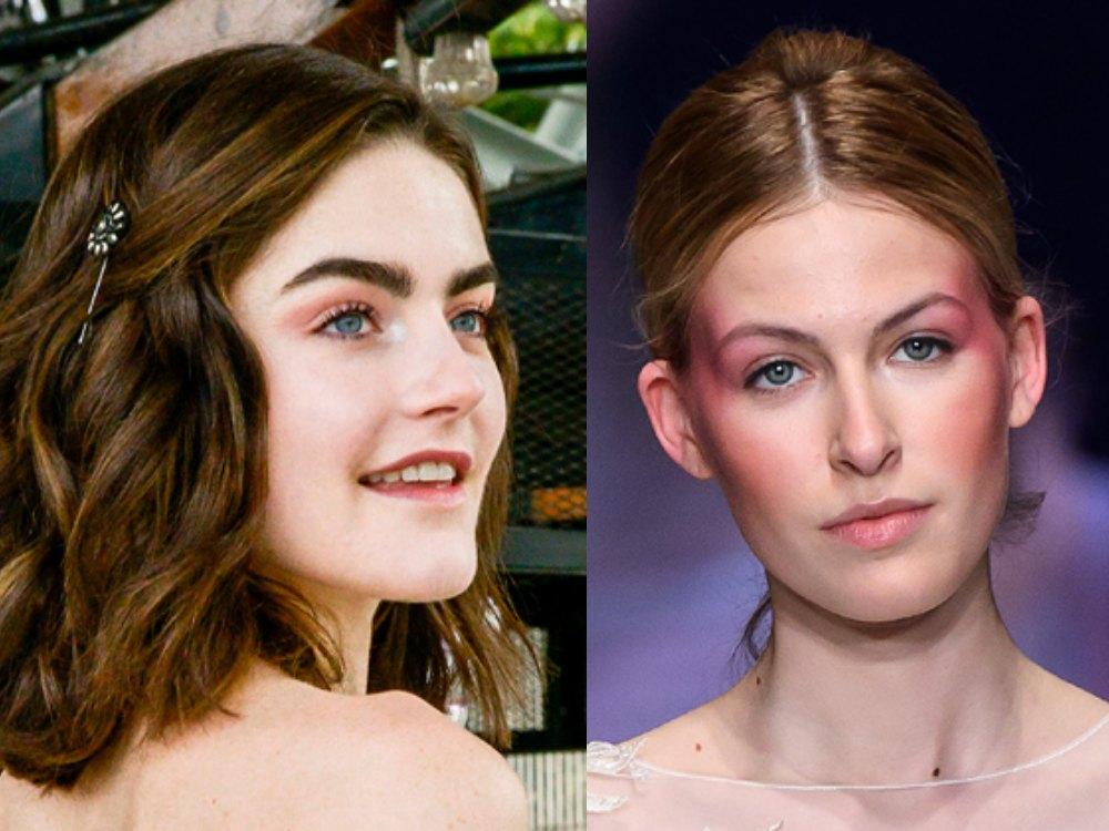 .inspirasi makeup dari bridal fashion spring 2020