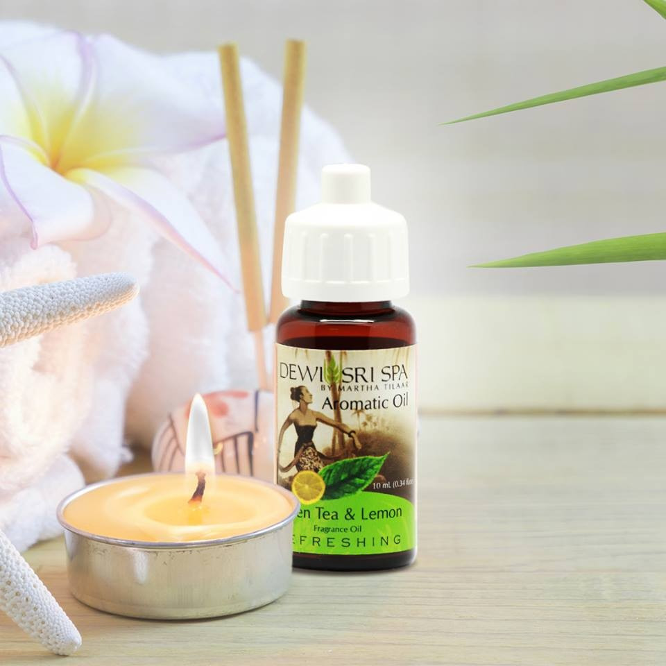 Dewi Sri Spa Aromatic Oil Green Tea & Lemon
