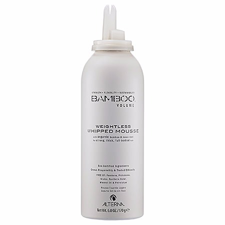 ALTERNA Haircare Bamboo Volume Weightless Whipped Mousse