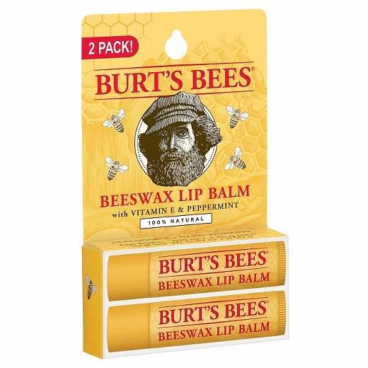 Burt's Bees Beeswax Lip Balms