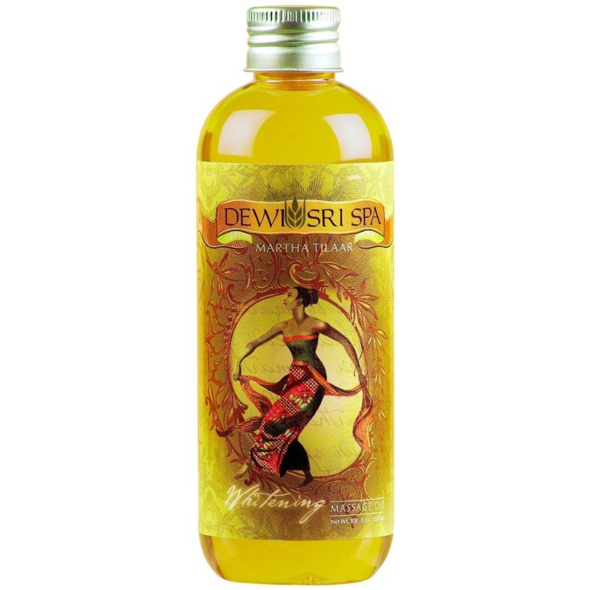 Dewi Sri Spa Whitening Classic Series Massage Oil
