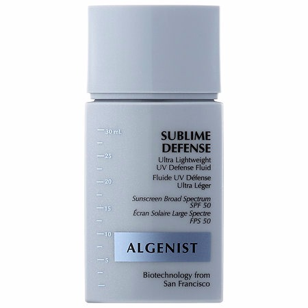 Algenist SUBLIME DEFENSE Ultra Lightweight UV Defense Fluid SPF 50