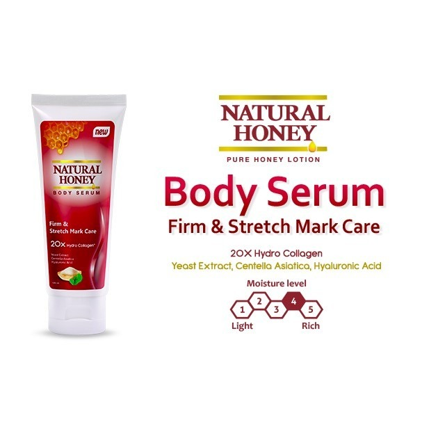 Natural Honey Body Serum Firm & Stretch Mark Care