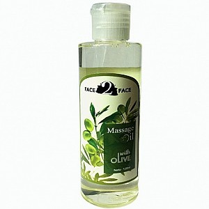 Face2Face Massage Oil With Olive Oil