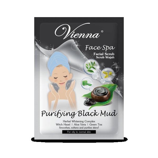 Vienna Facial Scrub Purryfing Black Mud