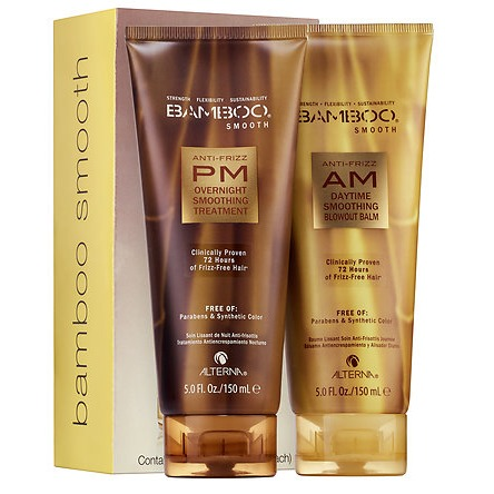 ALTERNA Haircare Bamboo Anti-Frizz AM/PM Strarter Kit