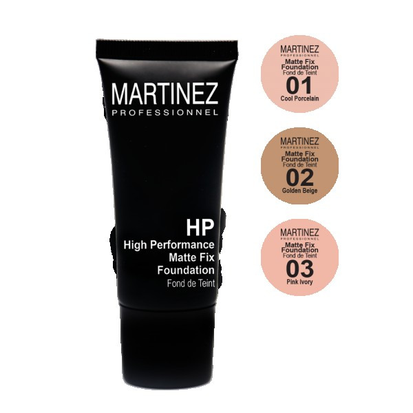 Martinez Foundation Matte Fix