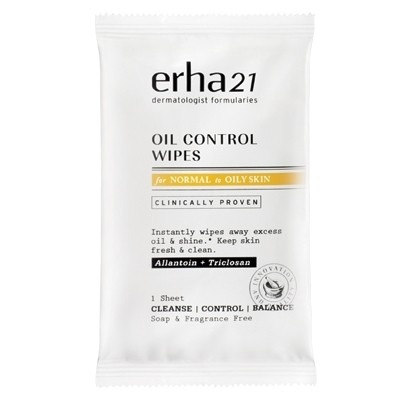 Erha OIL CONTROL WIPES