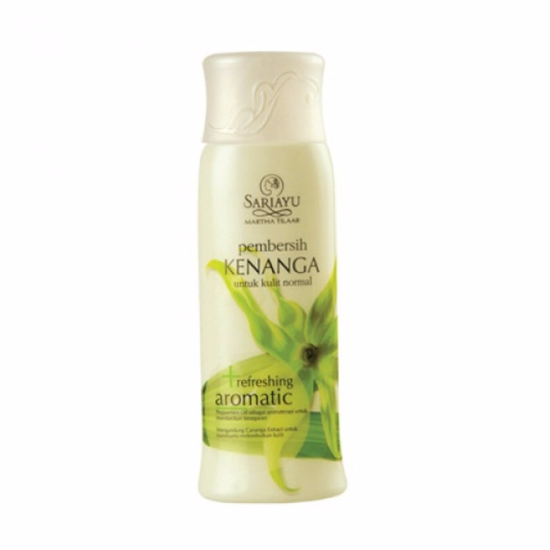 Sariayu Pembersih Kenanga Refreshing Aromatic