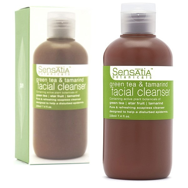 Sensatia Botanicals Green Tea & Tamarind Facial Cleanser