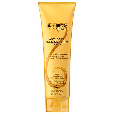 ALTERNA Haircare Bamboo® Smooth Curls Anti-Frizz Curl-Defining Cream