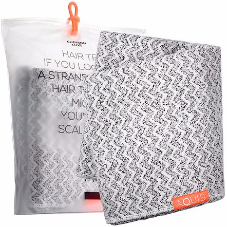 AQUIS Lisse Luxe Long Hair Towel