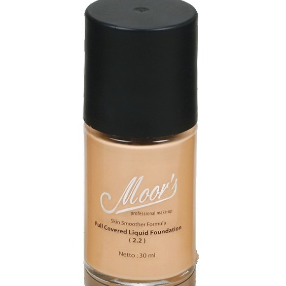 Moor's Full Covered Liquid Foundation