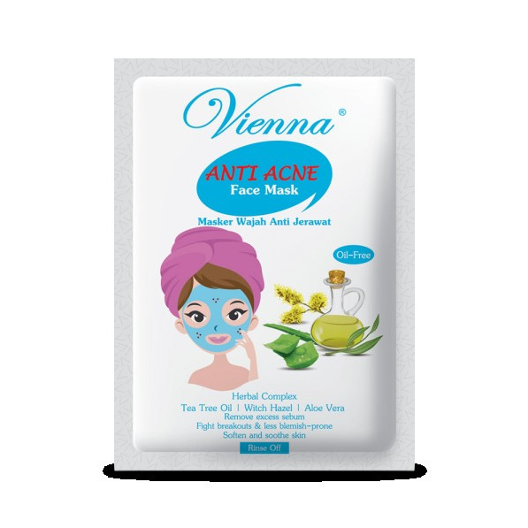 Vienna Whitening Face Mask Anti Acne