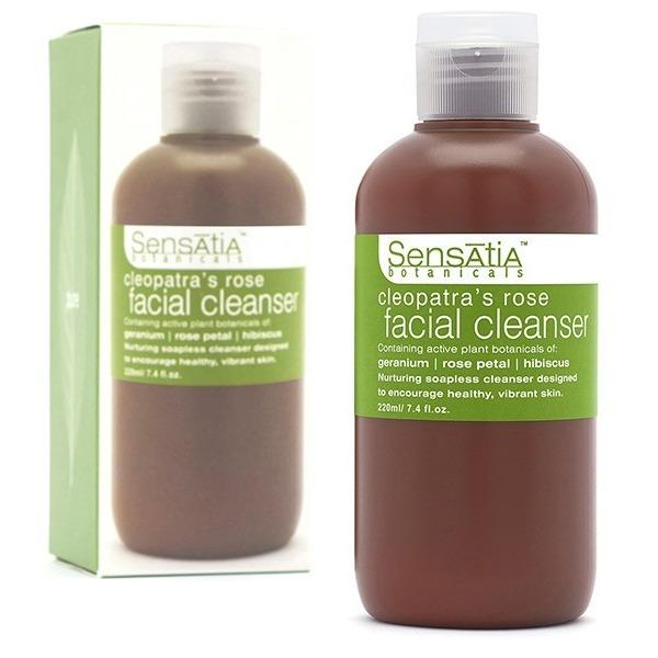 Sensatia Botanicals Cleopatra's Rose Facial Cleanser