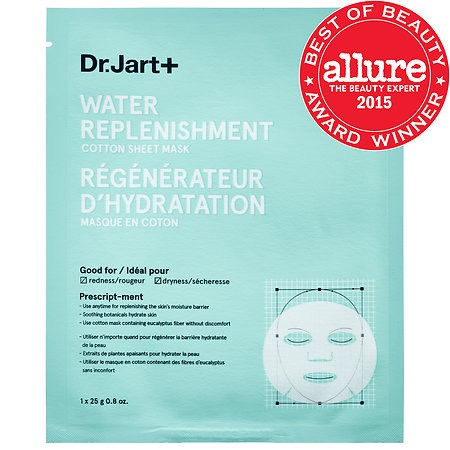 Dr Jart Water Replenishment Cotton Sheet Mask