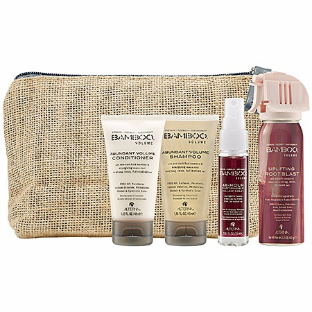 ALTERNA Haircare Bamboo Volume On-The-Go Travel Set