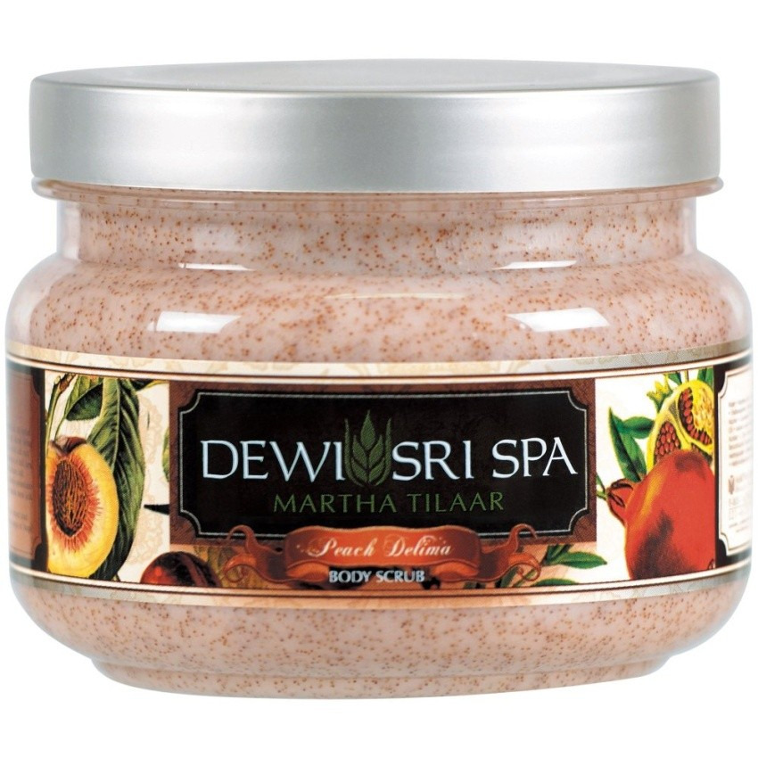 Dewi Sri Spa Peach Delima Signature Series Body Scrub