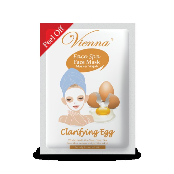 Vienna Face Spa Peel off Mask Clarifying Egg