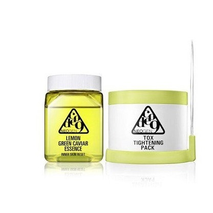 NEOGEN Dermalogy Code 9 Lemon Green Caviar Essence & Tox Tightening Pack Kit