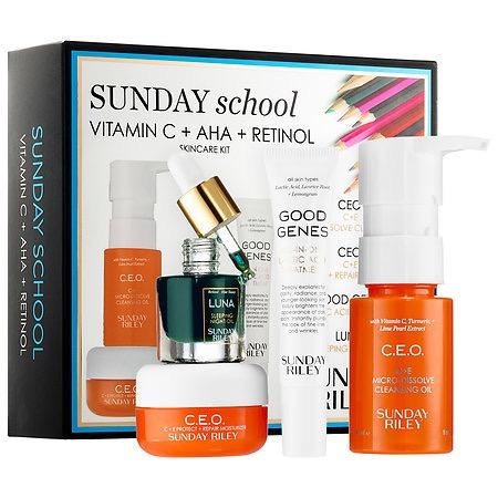 SUNDAY RILEY Sunday School Skin Care Set
