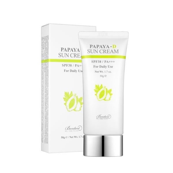 Benton Papaya-S Sun Protection SPF38 / PA +++