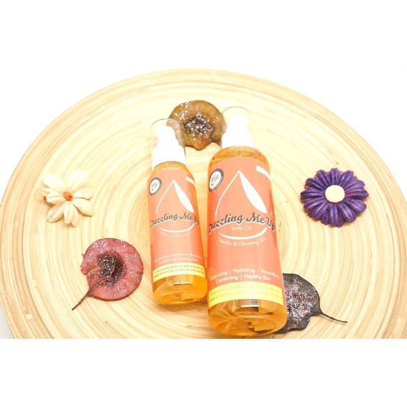 The Soap Corner Dazzling Me Up Body Oil 100% Natural