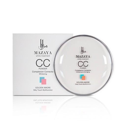 Mazaya CC Powder Complexion Corrector Whitening Golden Amore