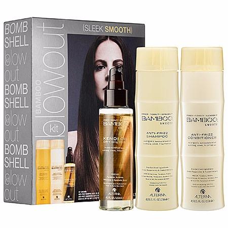 ALTERNA Haircare Bamboo Blowout Sleek Smooth Kit