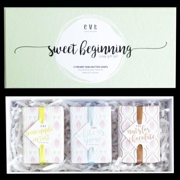 Evete Naturals Sweet Beginning Soap Gift Set