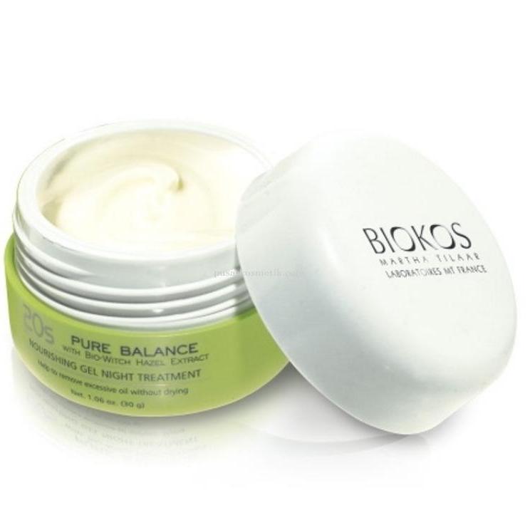 Biokos Pure Balance 20s Nourish Gel Night Treatment