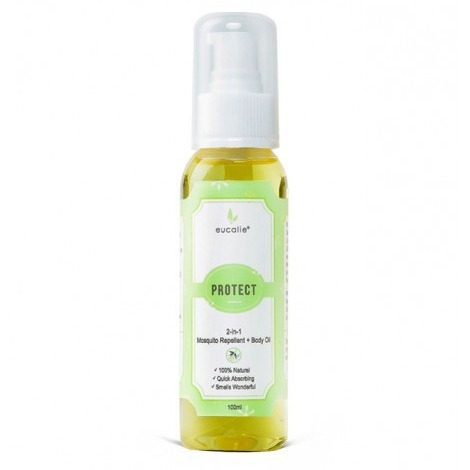 Eucalie PROTECT 2-IN-1 MOSQUITO REPELLENT & BODY OIL SERUM
