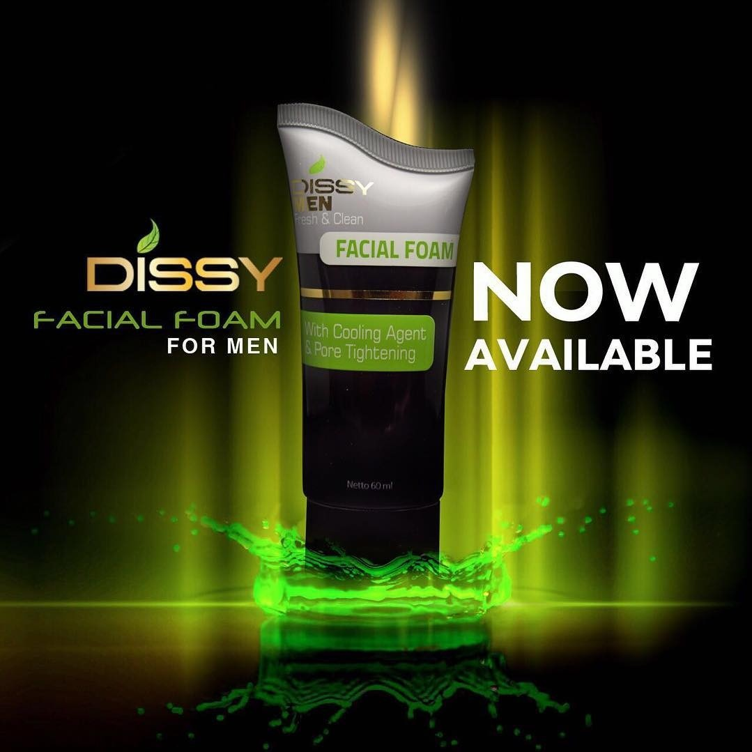 Dissy Facial Foam For Men