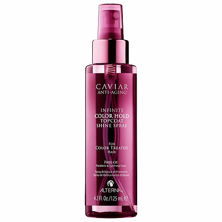 ALTERNA Haircare Caviar Infinite Color Hold Topcoat Shine Spray