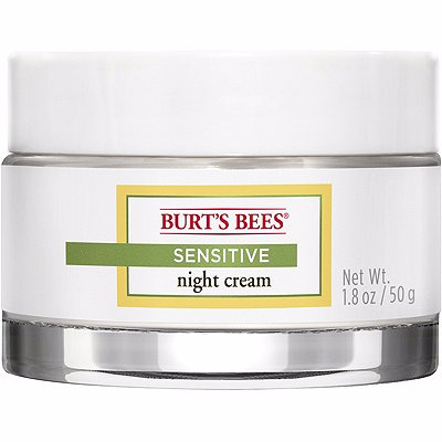 Burt's Bees Natural Skin Solutions Sensitive Night Cream