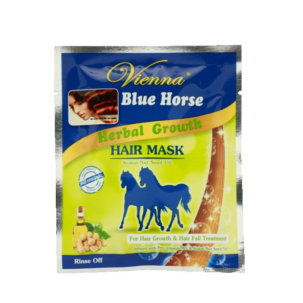 Vienna Blue Horse Herbal Growth Hair Mask