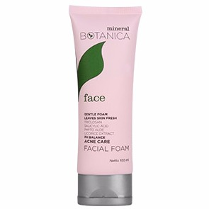 Mineral Botanica Acne Care Facial Foam